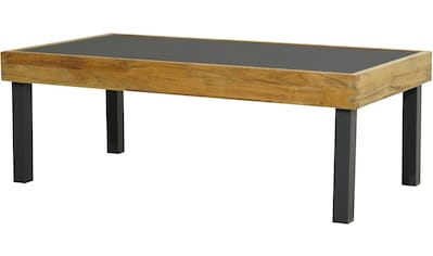 PLOSS Gartentisch »Skagen«, Teakholz/Aluminium/Keramik, 125x65 cm kaufen