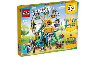 LEGO® Konstruktionsspielsteine »Riesenrad (31119), LEGO® Creator«, (1002 St.) kaufen