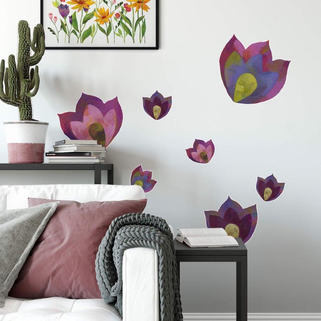Wall-Art Wandtattoo »Märchenhaft Traumblumen«