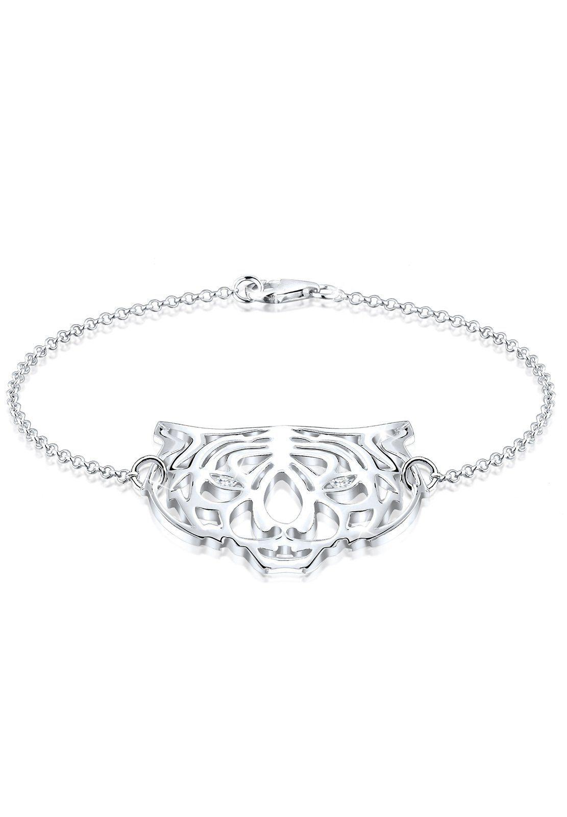 Elli Armband Tiger Zirkonia 925 Sterling Silber | Schmuck > Armbänder > Silberarmbänder | Elli
