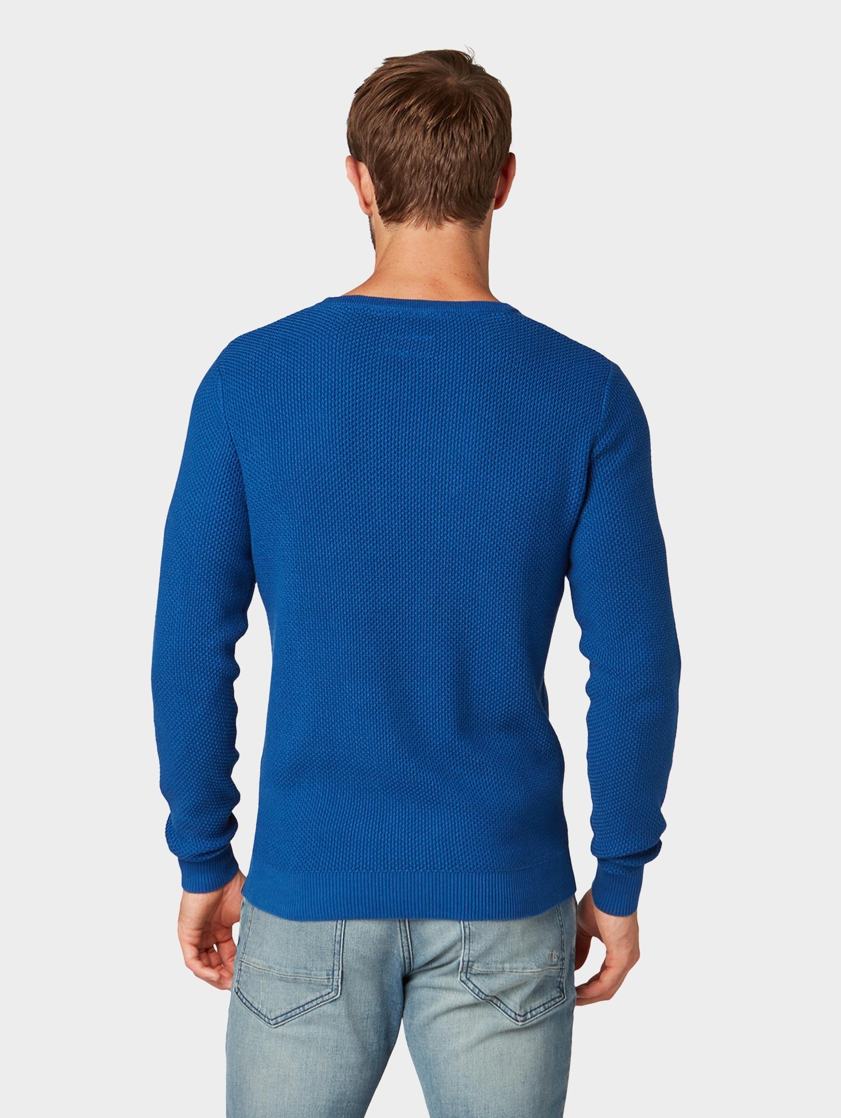 TOM TAILOR Rundhalspullover Strukturierter Strickpullover   Bekleidung > Pullover > Rundhalspullover   Tom Tailor