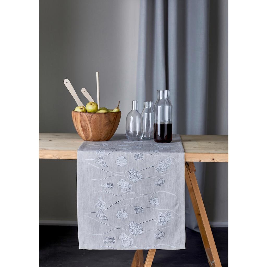 APELT Tischläufer »1113 Herbstzeit, Jacquard«
