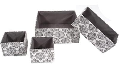 Franz Müller Flechtwaren Aufbewahrungsbox »TexBox«, (Set, 4 St.) kaufen