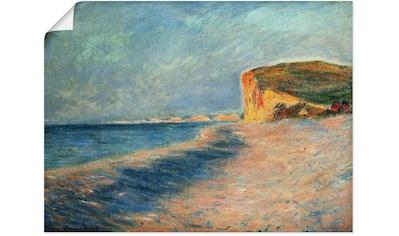 Artland Wandbild »Pourville bei Dieppe. 1882« kaufen