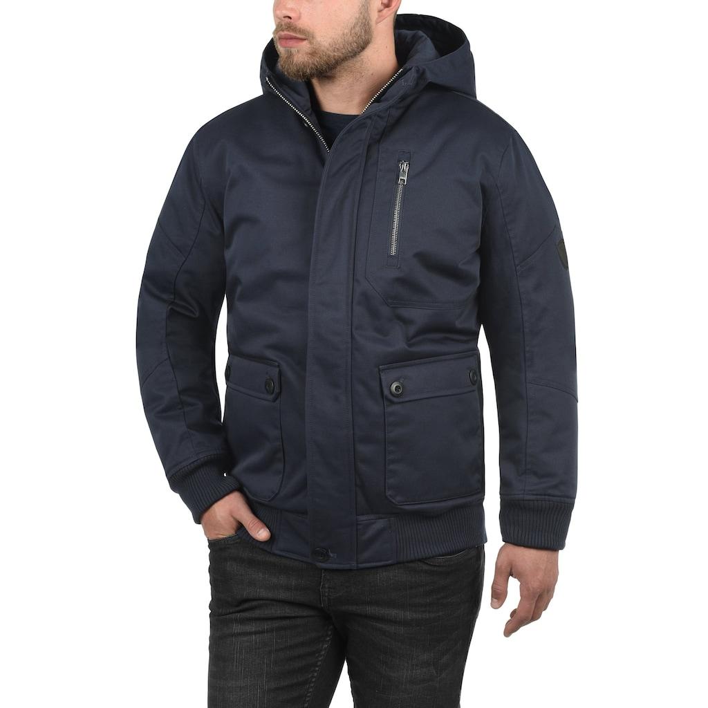 Solid Kurzjacke »Wallace«, warme Jacke mit Stehkragen