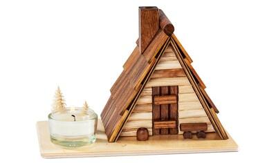 SAICO Original Räucherhaus Schutzhütte für ein Teelicht kaufen