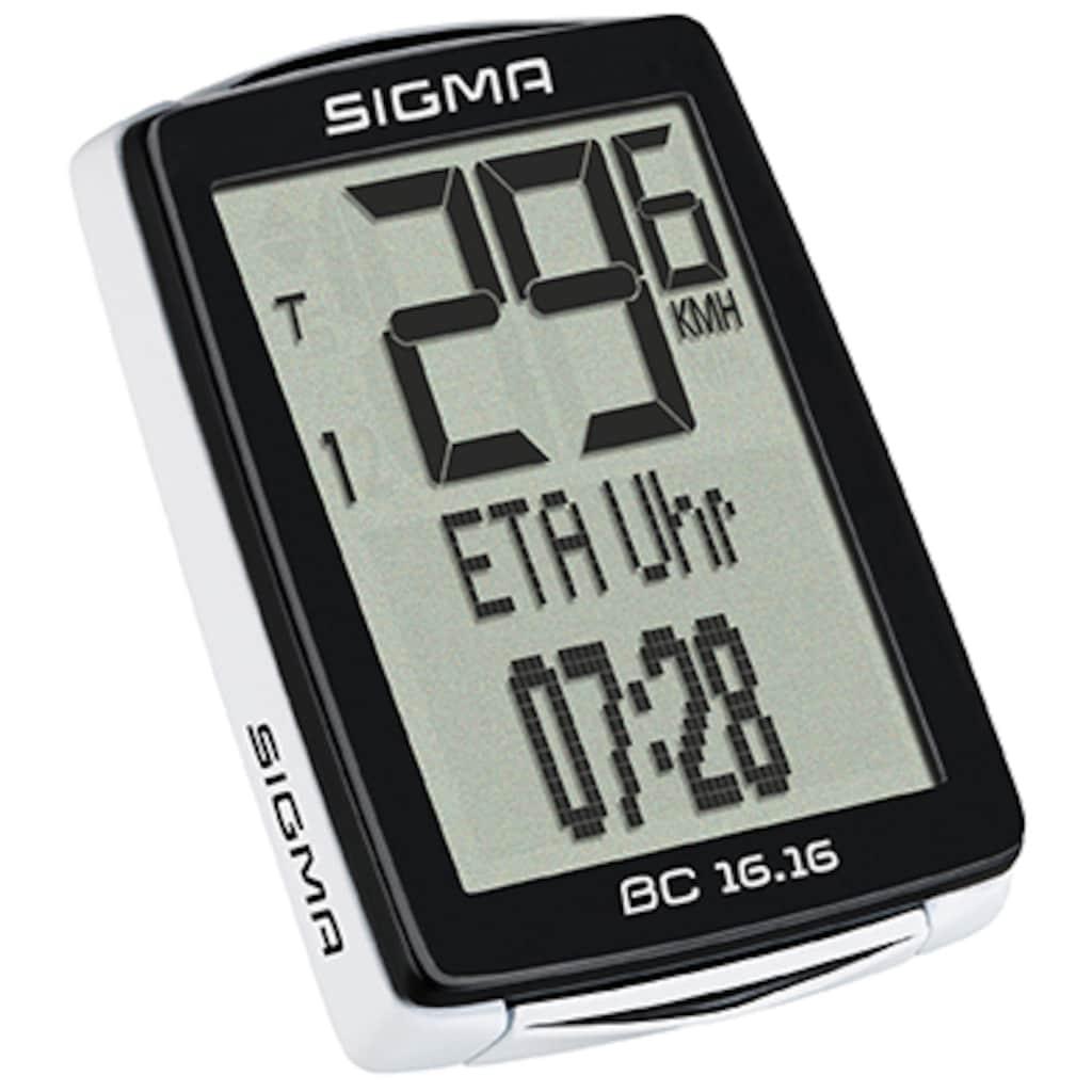 SIGMA SPORT Fahrradcomputer »BC 16.16«
