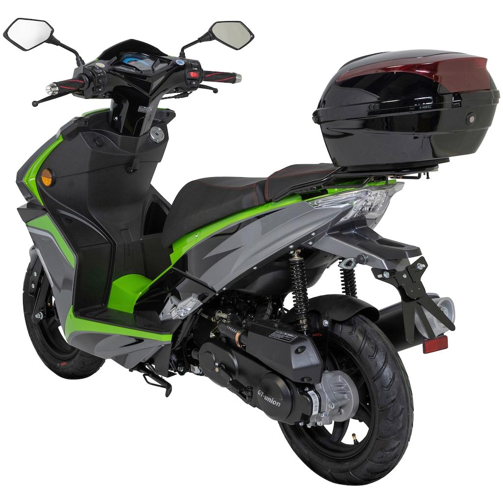 GT UNION Motorroller »Striker«, 3 PS, inkl. Topcase