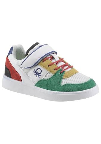 United Colors of Benetton Sneaker »ALLY«, mit praktischem Klettriemchen kaufen