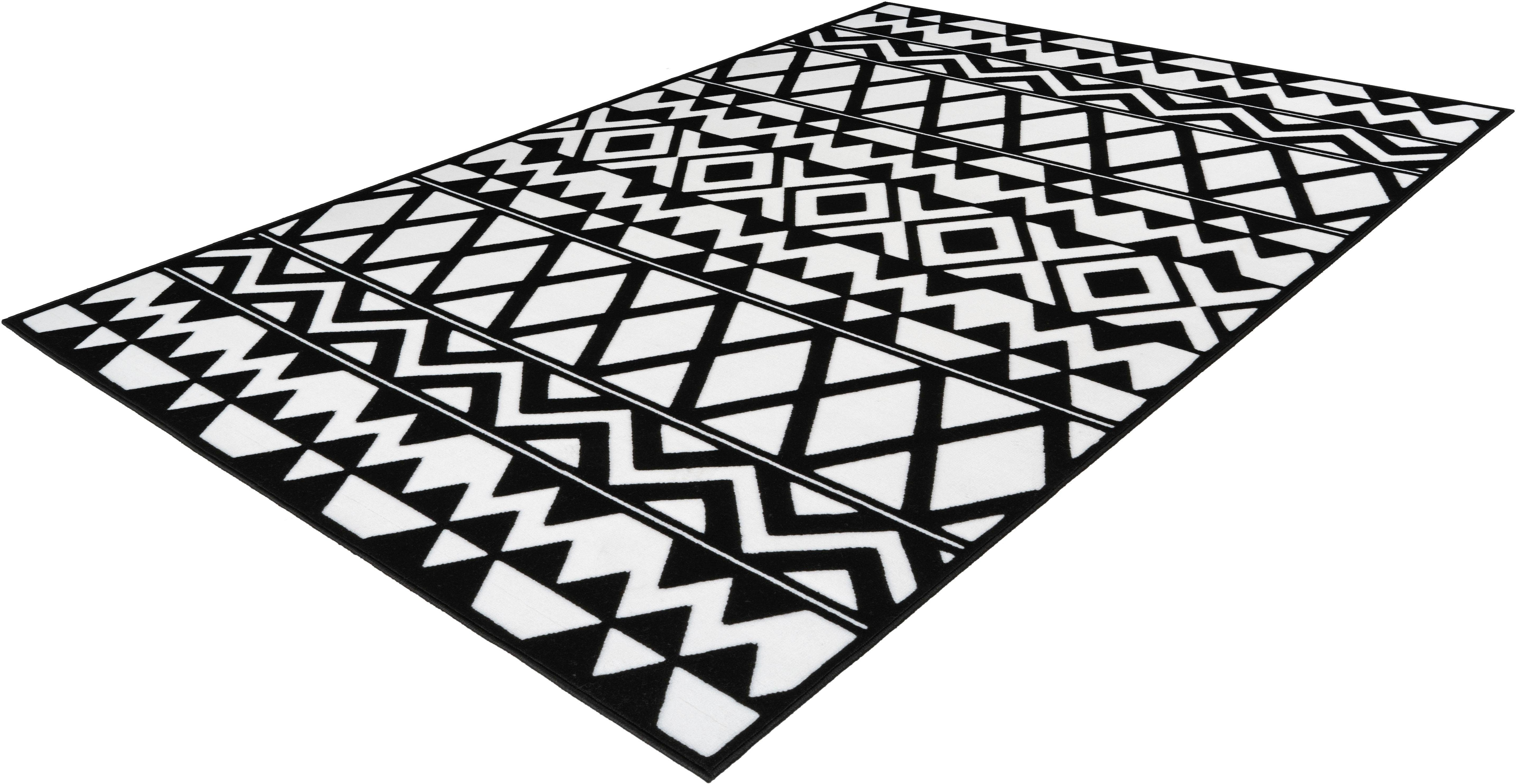 Teppich Lissy 955 calo-deluxe rechteckig Höhe 10 mm maschinell gewebt