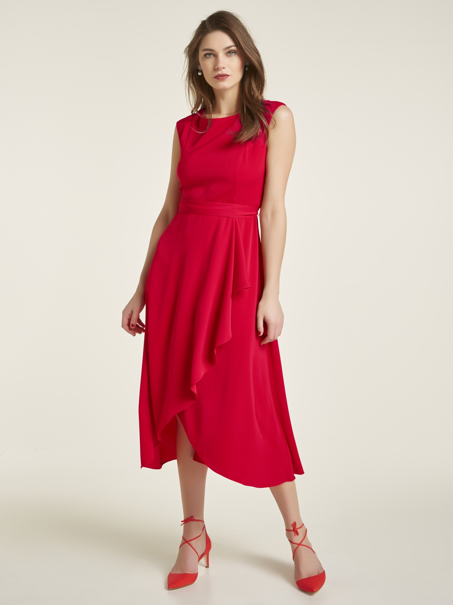heine TIMELESS Kleid mit Volant