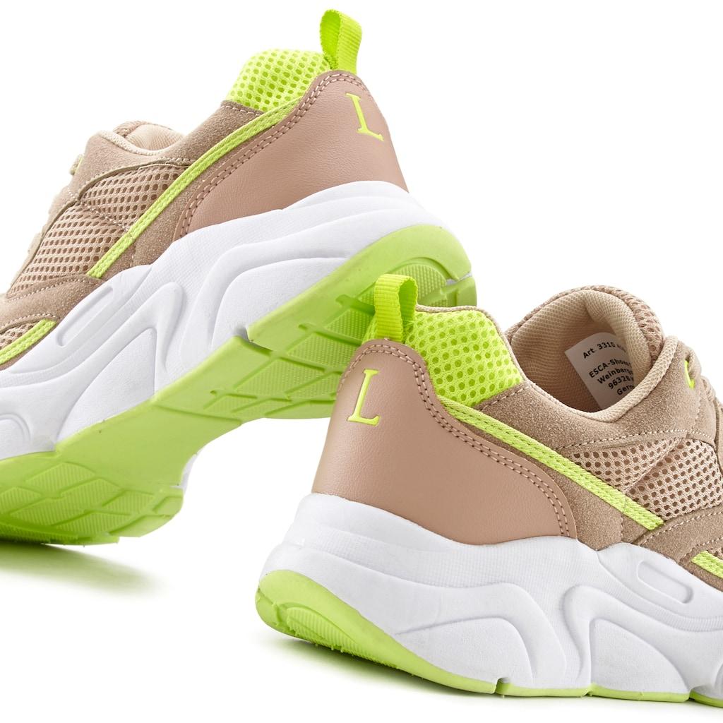 LASCANA Sneaker, im sportiven Look