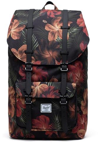 Herschel Laptoprucksack »Little America, Tropical Hibiscus« kaufen