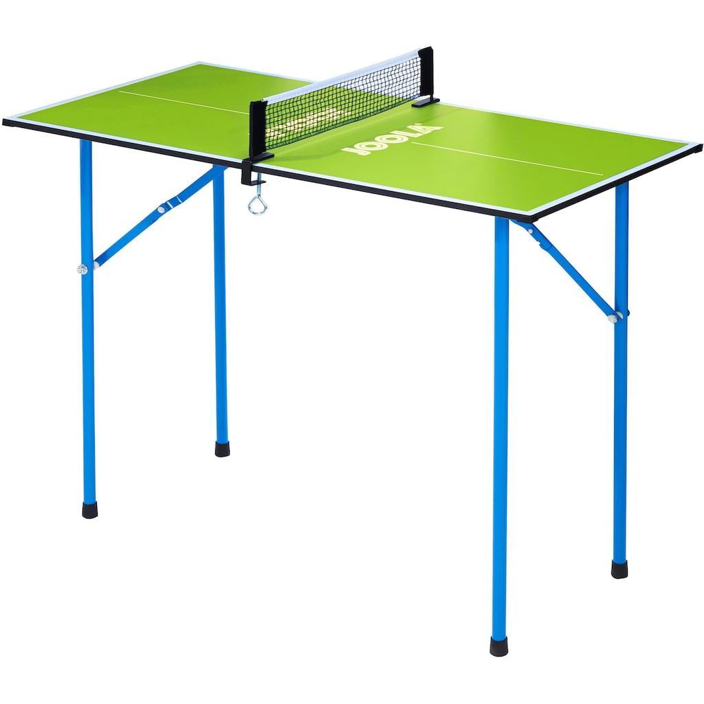 Joola Mini-Tischtennisplatte »Mini«, (2 tlg.), Das Netz ist im Lieferumfang enthalten