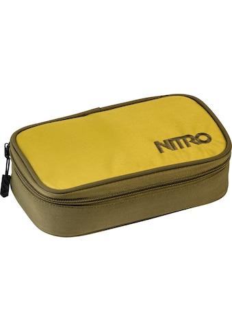 NITRO Federtasche »Pencil Case XL, Golden Mud« kaufen