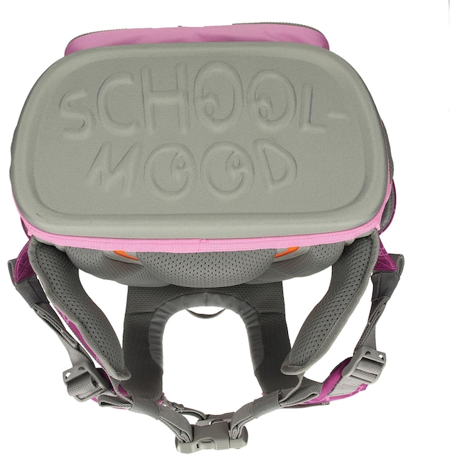 SCHOOL-MOOD® Schulranzen »Timeless eco, Olivia« (Set, 6 tlg.)