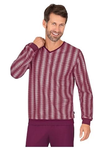Trigema Pyjamaoberteil, mit langen Armen kaufen