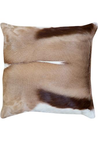 Trendline Fellkissen »Dekokissen Goat«, wohnliches Zierkissen, eckig, 45x45 cm,... kaufen