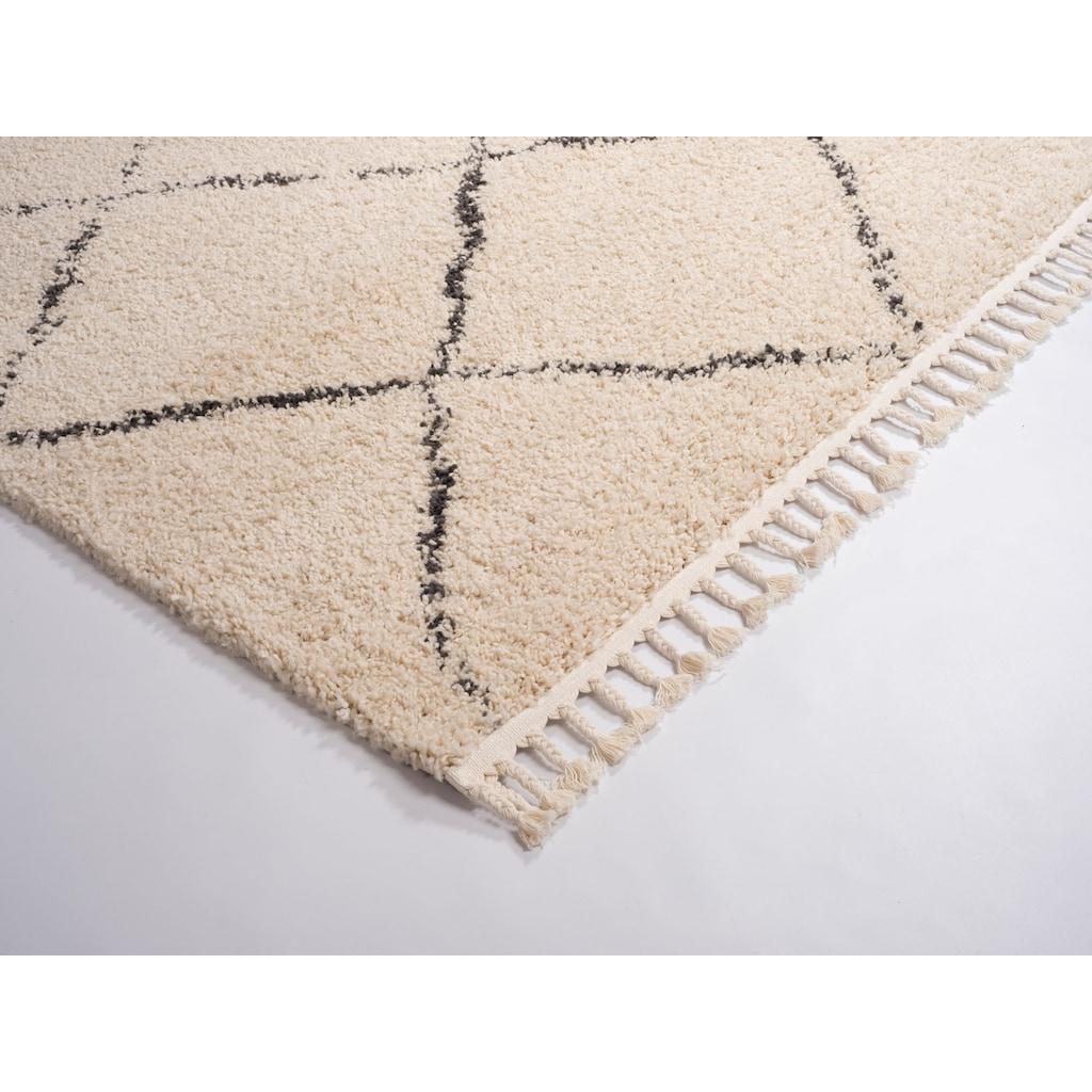 GALLERY M Hochflor-Teppich »Donna«, rechteckig, 30 mm Höhe, Wohnzimmer