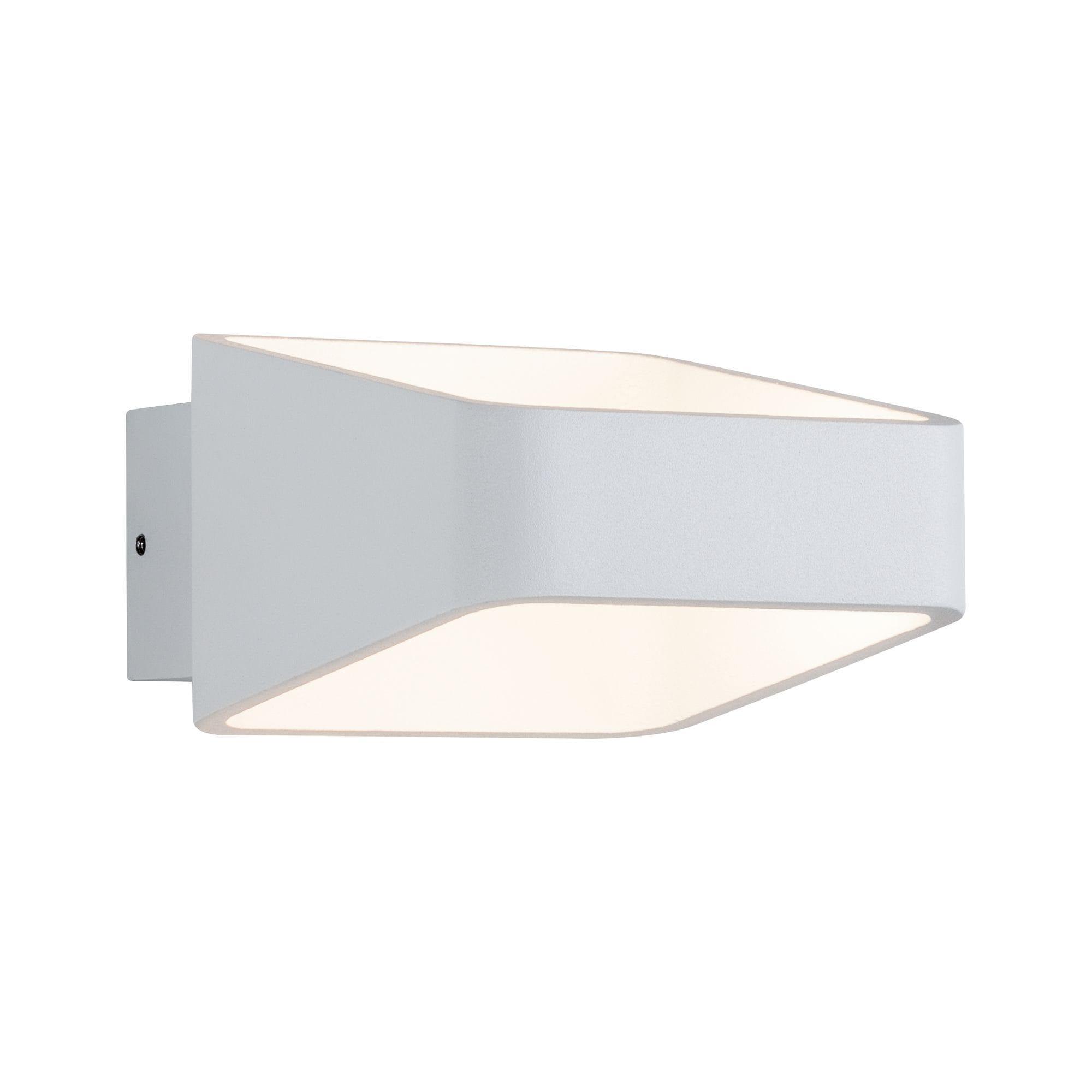 Paulmann LED Wandleuchte Stadio 5,5W Weiß, 1 St., Warmweiß