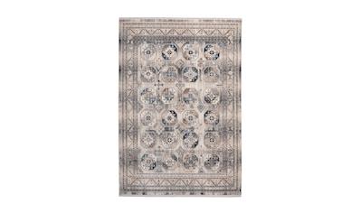 me gusta Teppich »Anouk 400«, rechteckig, 5 mm Höhe, Flachgewebe, Vintage Design,... kaufen