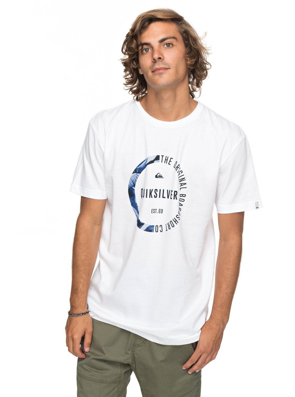 Quiksilver T-Shirt »Classic Revenge« | Bekleidung > Shirts > T-Shirts | Weiß | Baumwolle | QUIKSILVER