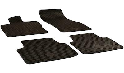 Walser Passform-Fußmatten, VW, Golf Sportsvan, Schrägheck, (4 St., 2 Vordermatten, 2 Rückmatten), für VW Golf Sportsvan BJ 2014 - heute kaufen