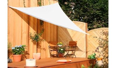 Floracord Sonnensegel »Dreieck«, B: 360 cm, cremeweiß kaufen