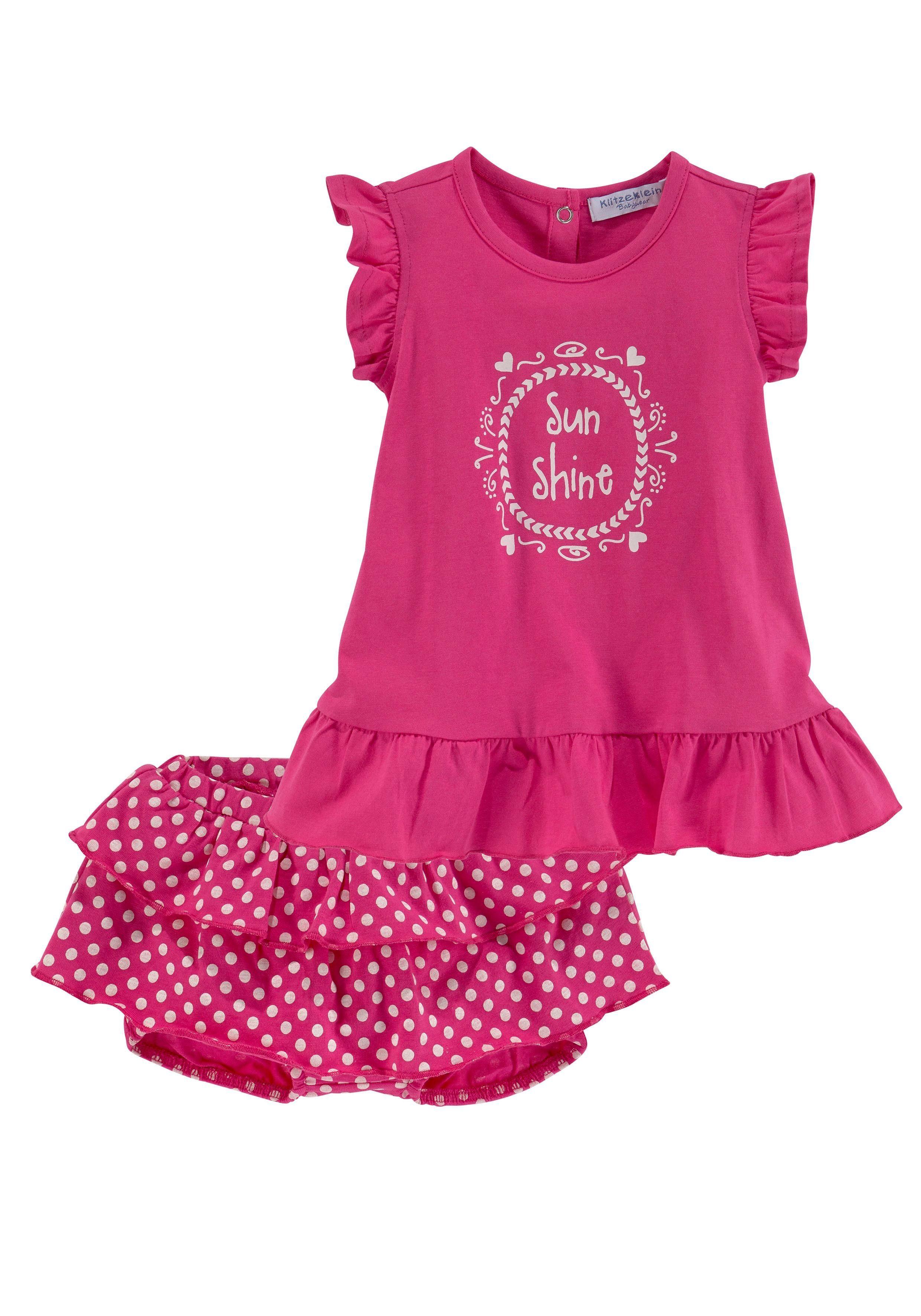 Klitzeklein Neugeborenen-Geschenkset, aus Bio-Baumwolle rot Baby Babykleidung Neugeborenen-Geschenkset