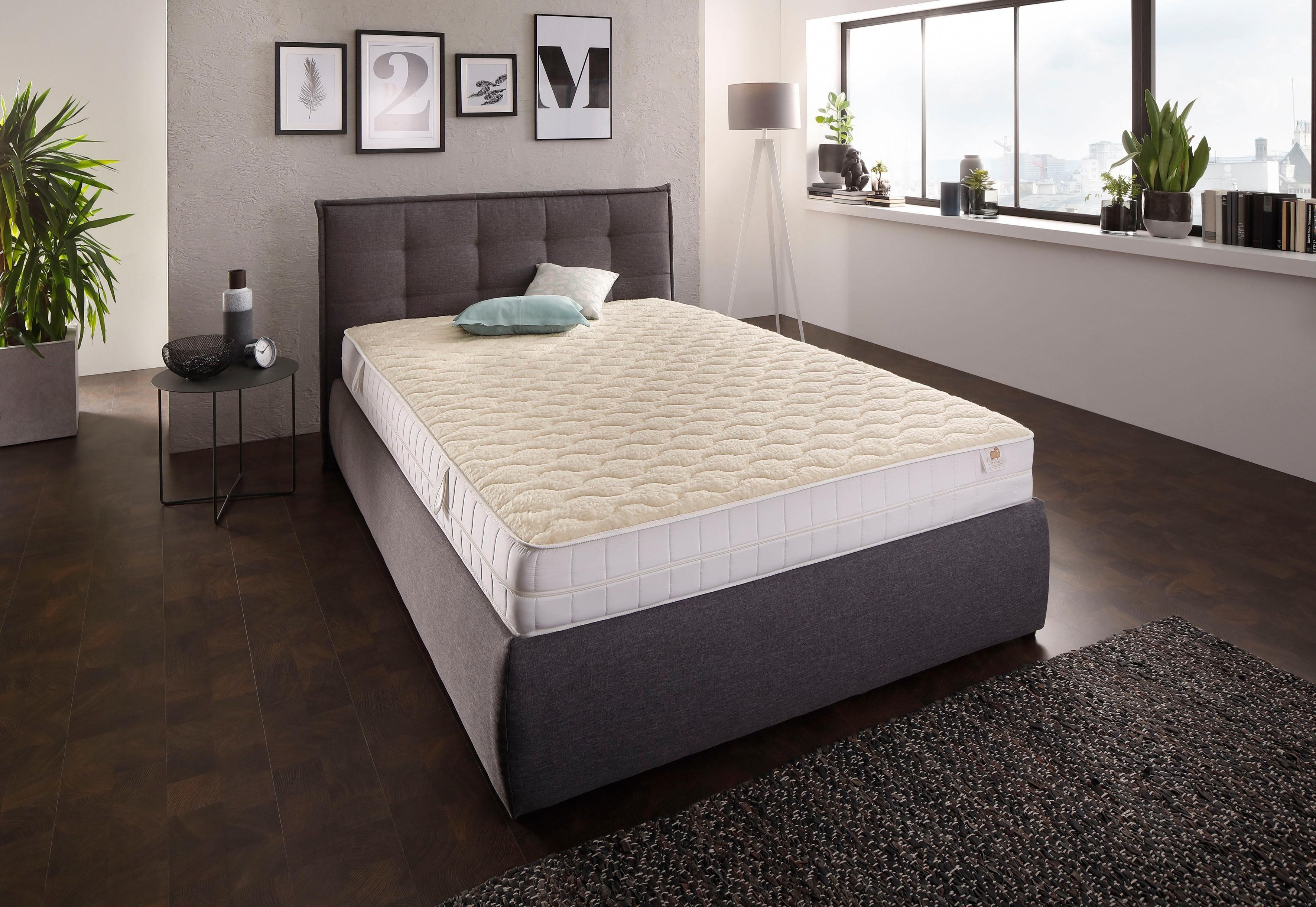 Komfortschaummatratze Merino Wollkomfort DI QUATTRO 20 cm hoch