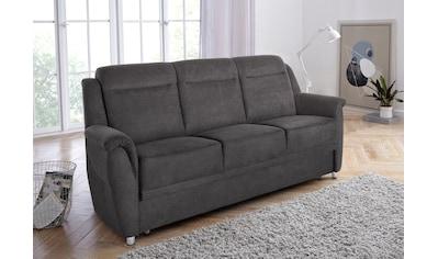 sit&more 3-Sitzer, wahlweise mit Bettfunktion und Bettkasten kaufen