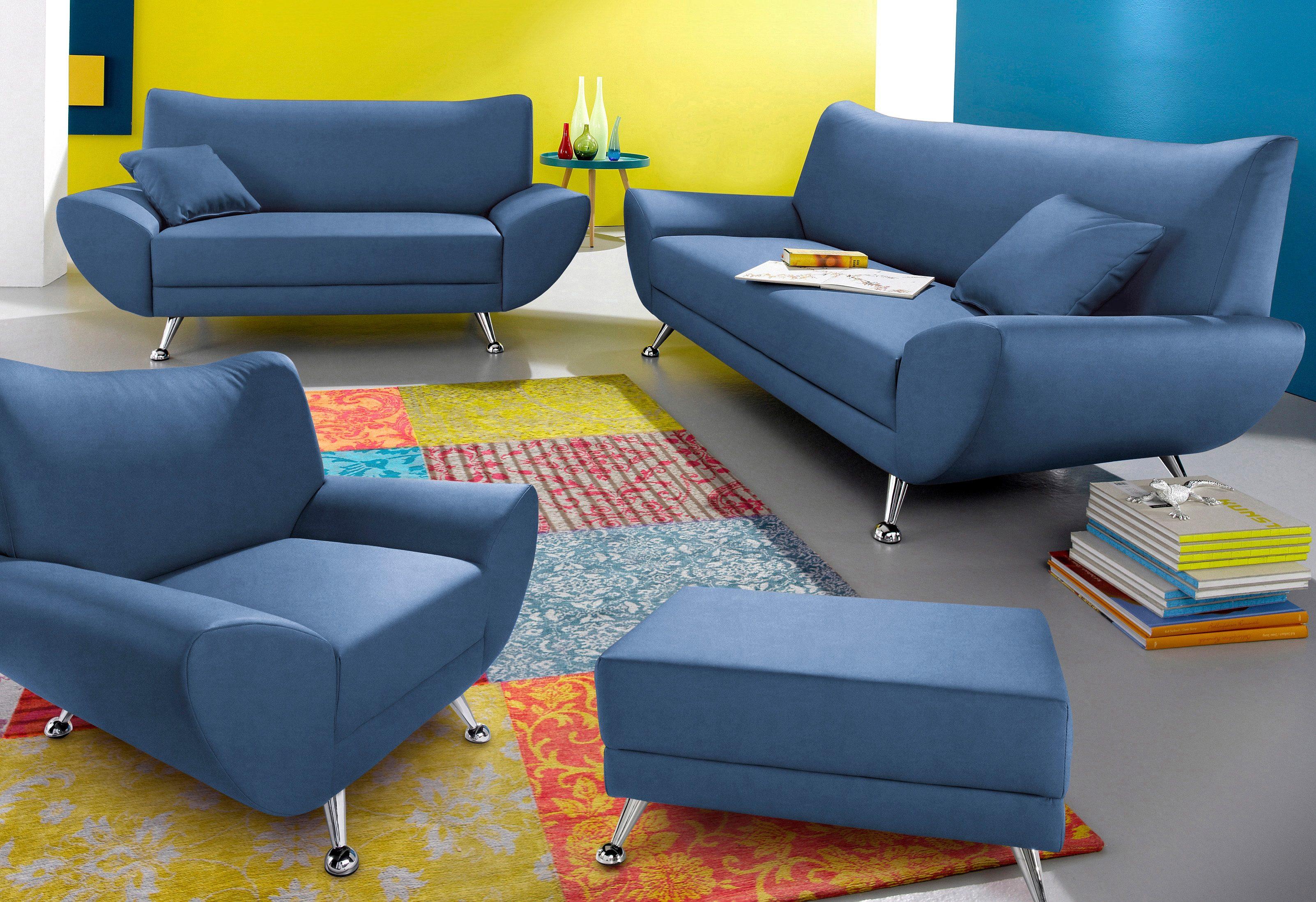 INOSIGN Garnitur | Wohnzimmer > Sofas & Couches > Wohnlandschaften | Microfaser - Kunstleder | INOSIGN