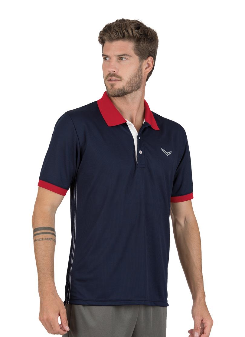 Trigema Funktions-Poloshirt COOLMAX | Bekleidung > Polo Shirts > Kurzarm | Blau | Trigema