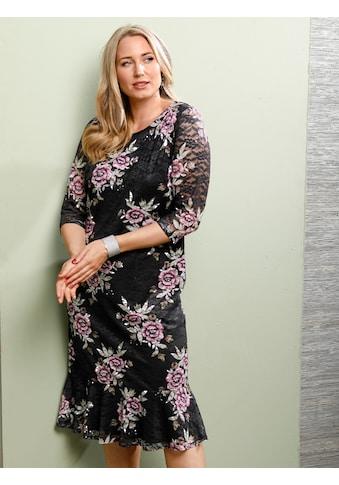 MIAMODA Spitzenkleid, mit Volant am Saum kaufen