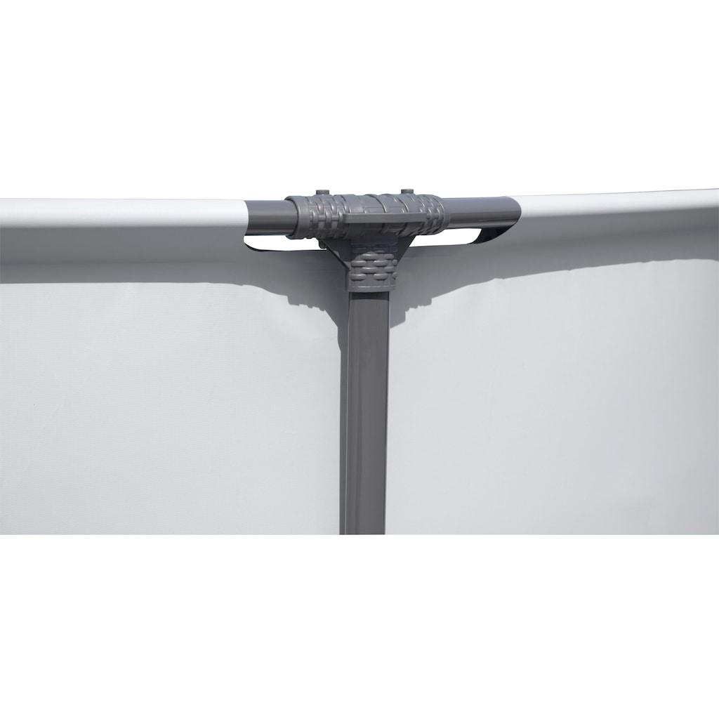 Bestway Rundpool »Steel Pro MAX™ Frame«, ØxH: 427x84 cm