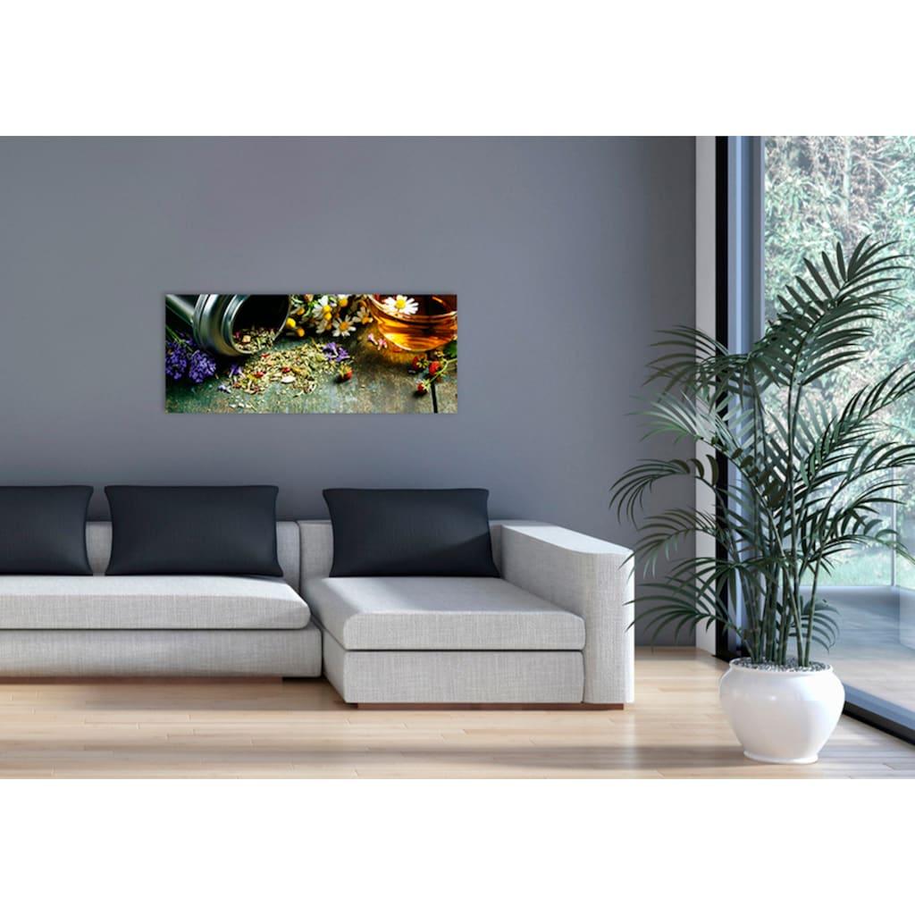 """Marmony Infrarotwandheizung »MOTIV-Heizkörper """"Flower Table"""", 800 Watt«, trocknet Wände und Mauerwerk, aus deutschem Jura-Naturstein"""