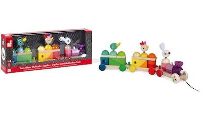 Kaloo Spielzeug-Eisenbahn »Zigolos Nachziehzug Hase, Huhn und Ente groß«, FSC®-Holz... kaufen
