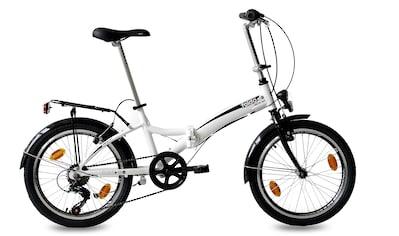 KCP Faltrad »Foldo Alu«, 6 Gang, Shimano, Tourney RD-TZ500-GS Schaltwerk,... kaufen