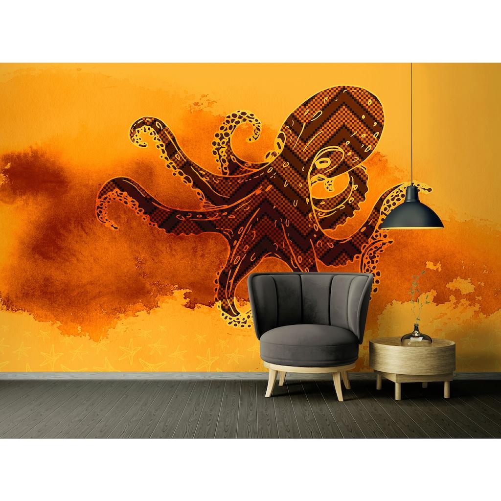 Architects Paper Fototapete »Atelier 47 Octopus Design 3«, Farbverlauf