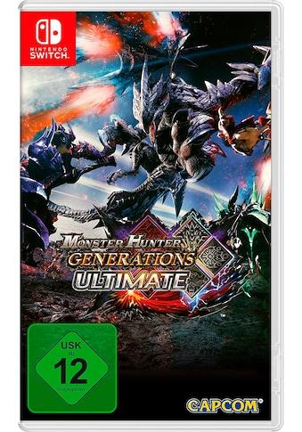 Capcom Spiel »Monster Hunter Generations Ultimate«, Nintendo Switch kaufen