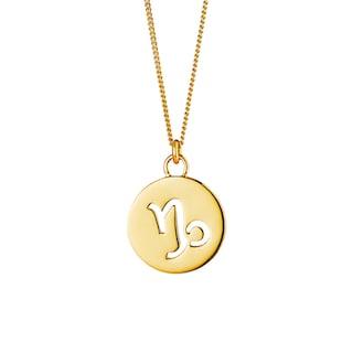 CAÏ Halskette »Steinbock Sternzeichen 925 Sterling Silber