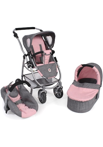 "CHIC2000 Kombi - Puppenwagen ""Emotion All In 3in1, Grau - Rosa"" kaufen"