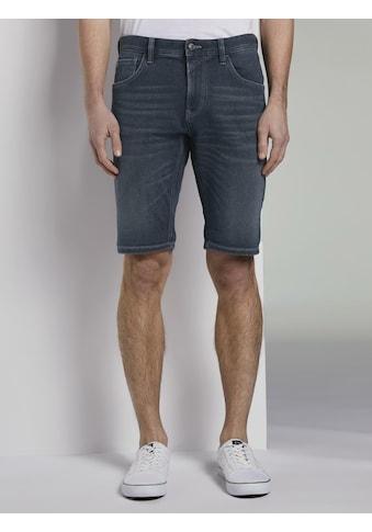 TOM TAILOR Denim 5 - Pocket - Jeans »Regular Jeansshorts in dunkler Waschung« kaufen