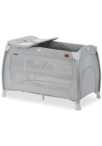 Hauck Baby-Reisebett »Play N Relax Center - Quilted Grey«, inkl. Transporttasche kaufen