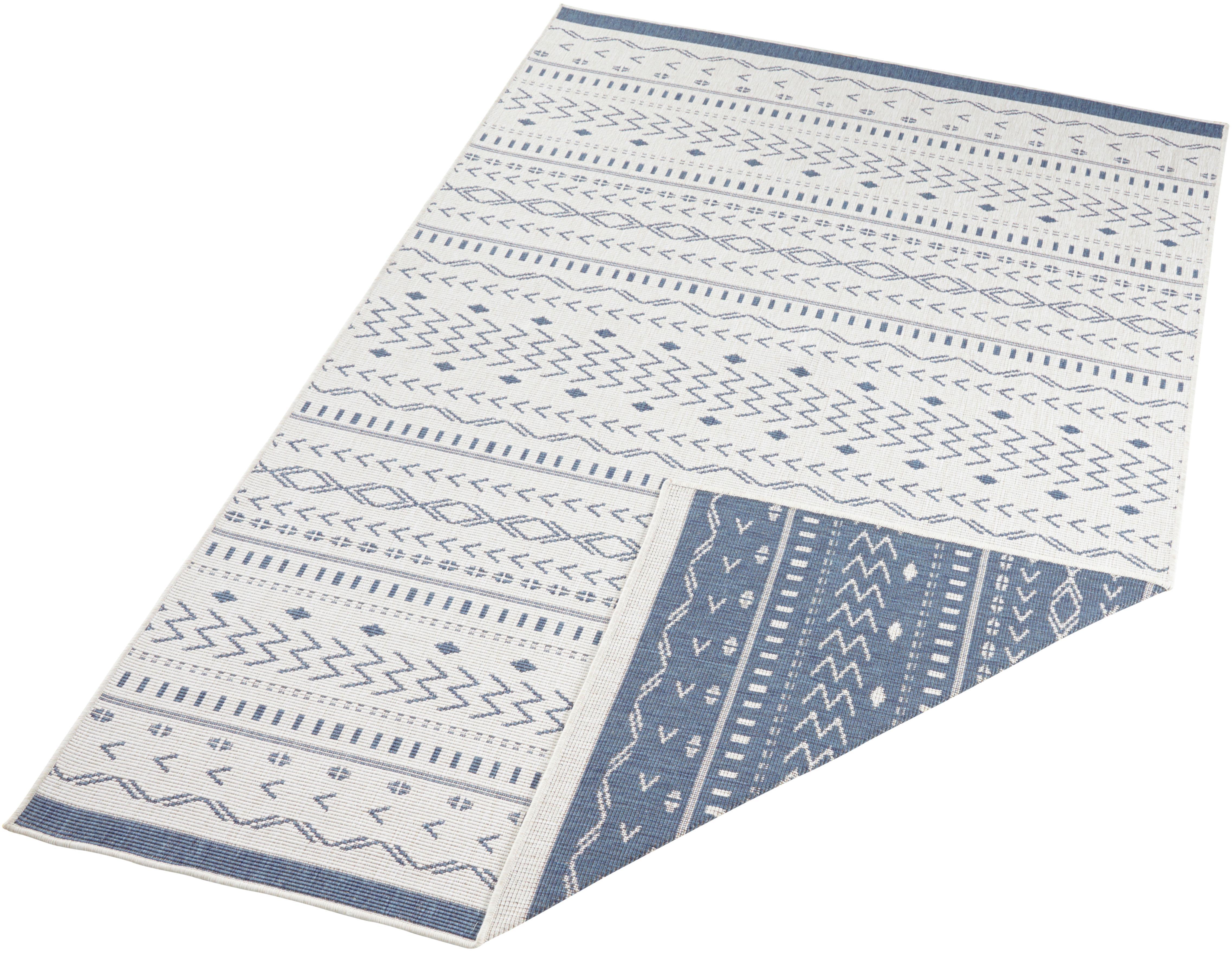 Teppich Kuba bougari rechteckig Höhe 5 mm maschinell gewebt