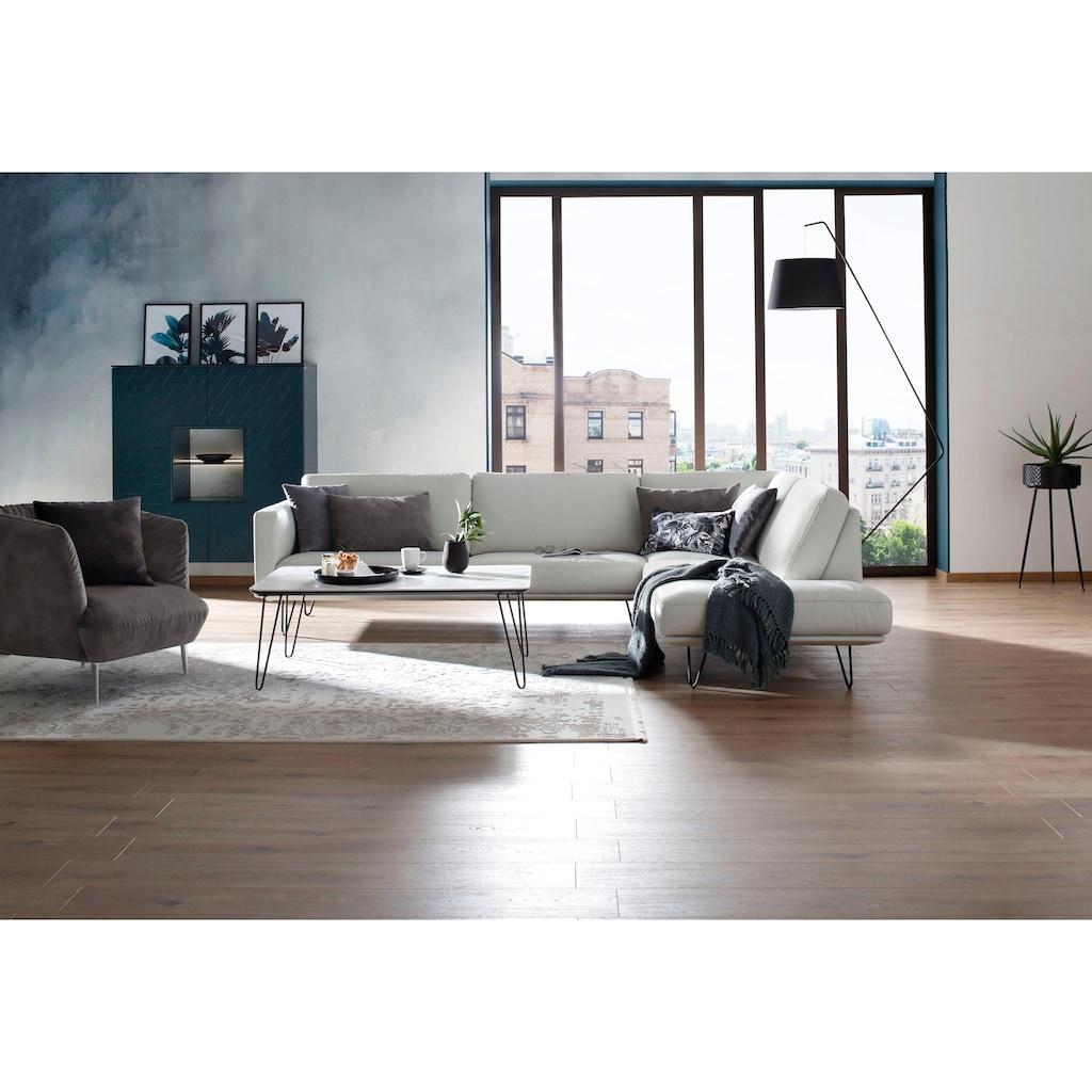 W.SCHILLIG Sessel »Villeroy & Boch ELLA«, Füße Chrom glänzend