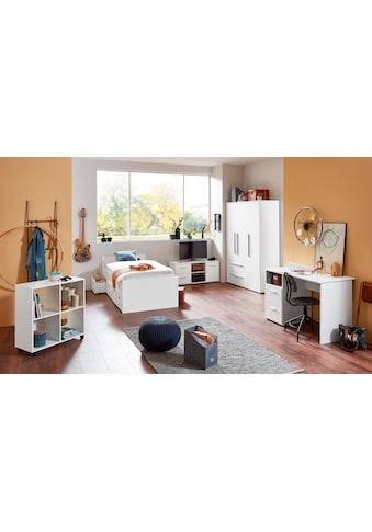 arthur berndt Jugendzimmer-Set, (5 St., Bett + 3 trg. Schrank + Schreibtisch +... kaufen