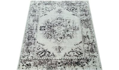 Paco Home Teppich »Tara 127«, rechteckig, 13 mm Höhe, Vintage Design, Wohnzimmer kaufen