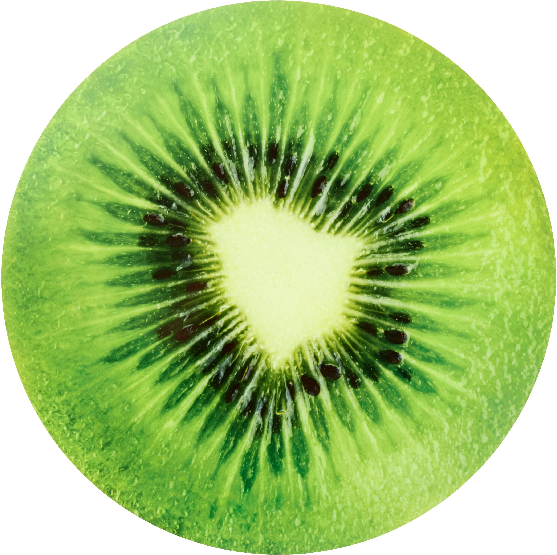 stuco Platzset Summer Fruits Kiwi, (Set, 6 St.), rund