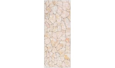 MySpotti Spritzschutz »fresh F1 Natursteinwand Beige«, 100 x 255 cm kaufen